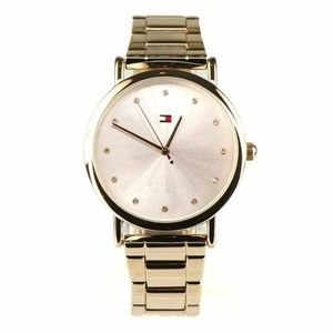 Tommy Hilfiger Women's Watch Rose Gold Pink Band